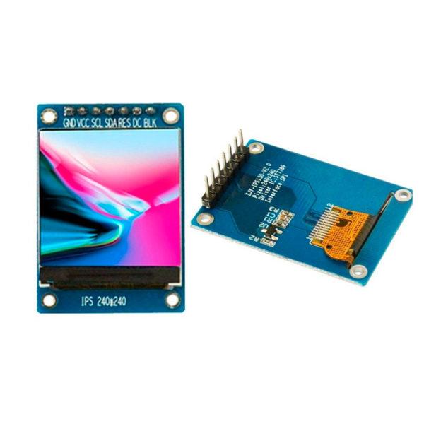 IPS SPI дисплей 1.3' 240×240px на базе ST7789