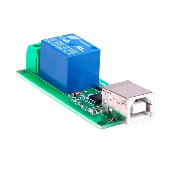 Одноканальное USB реле (250В / 10А)