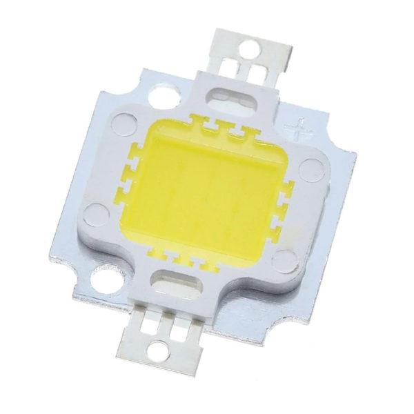COB LED (холодный белый / 9 - 12В / 10 Вт)