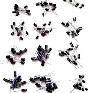Электролитические конденсаторы 1UF-470UF, 120 шт.