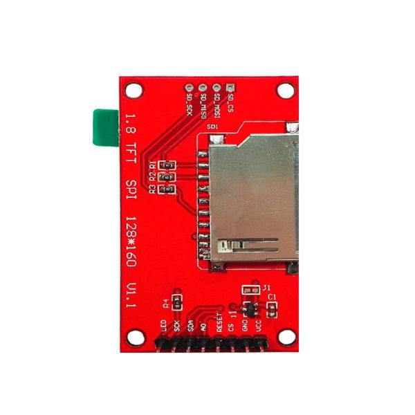 TFT SPI дисплей 1.8″ на базе ST7735 (128×160 px)
