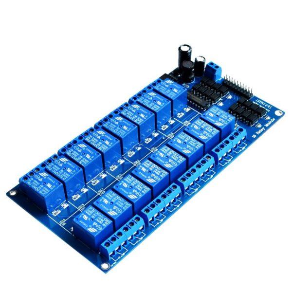 Шестнадцатиканальное реле для Arduino