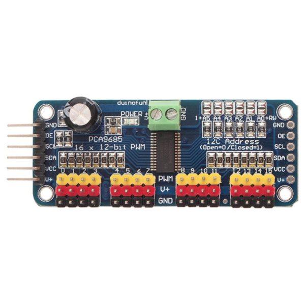 Драйвер на 16 сервоприводов PCA9685