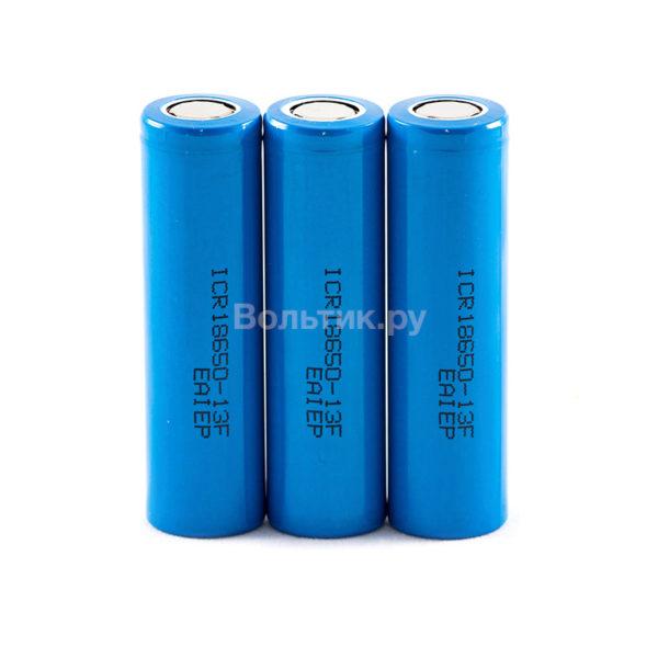 18650 ICR18650-13F 1300 mAh - Li-ion аккумулятор 3.7 V
