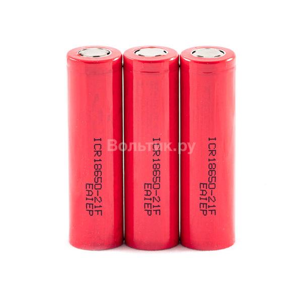 18650 ICR18650-21F 2100 mAh - Li-ion аккумулятор 3.7 V