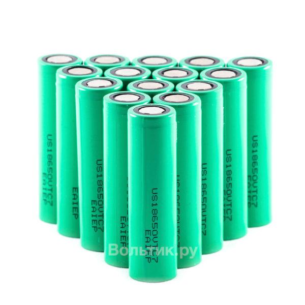 18650 US18650VTC7 3300 mAh - Li-ion аккумулятор 3.7V