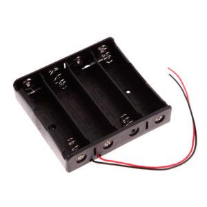 Батарейный отсек для 4-х АКБ 18650