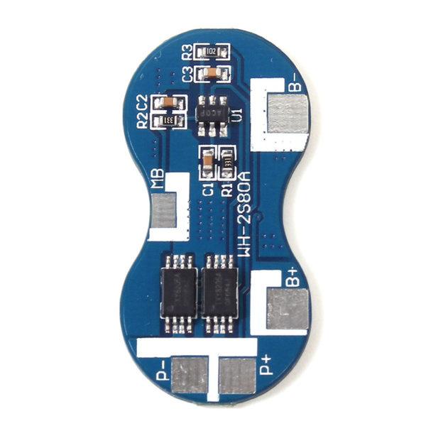 BMS 2S — контроллер заряда на 2 АКБ (7.2 — 8.4В; 2A)