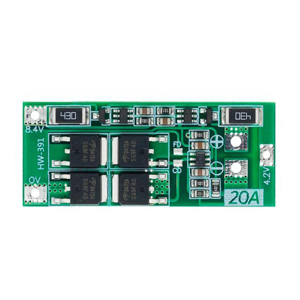BMS 2S (7.4 - 8.4V / 20A) с защитой и балансировкой