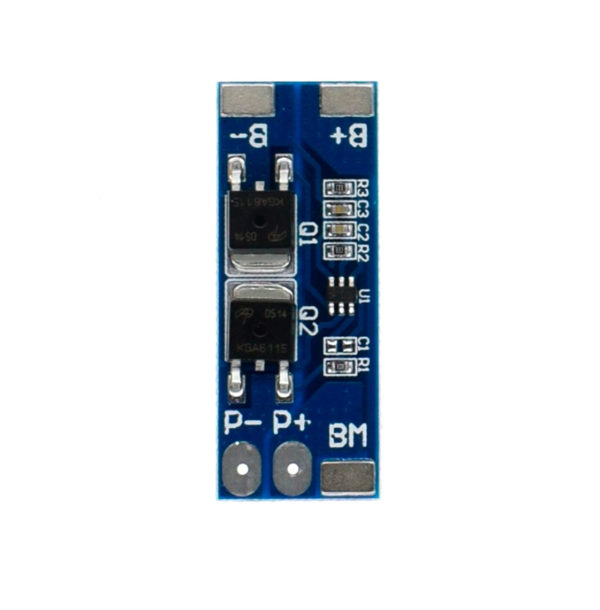 BMS 2S (2S 8A) — контроллер заряда с защитой на 2 АКБ 18650