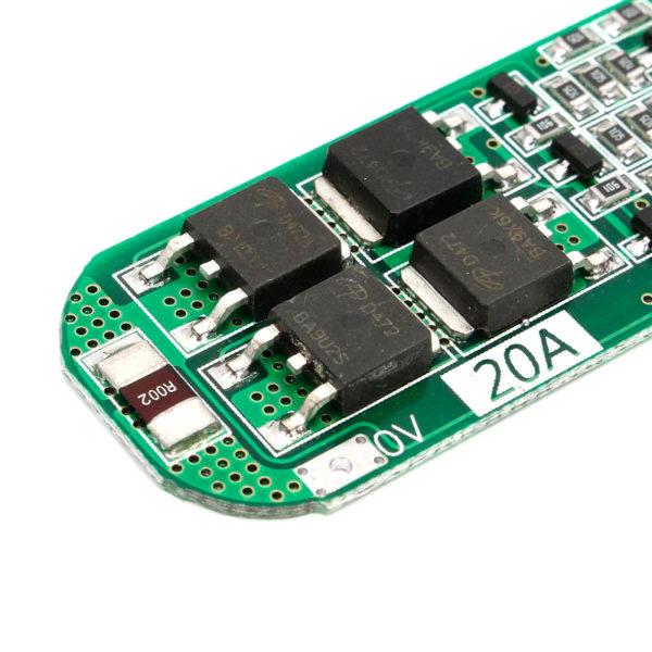BMS 3S – контроллер заряда с защитой на 3 АКБ 18650 (4.2В-12.6В; 20A)