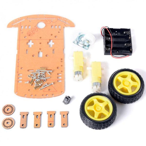 Шасси для трёхколесного робота — набор конструктор