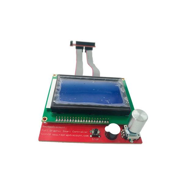 Комплект дисплея 12864 LCD Smart Controller (к RAMPS 1.4)
