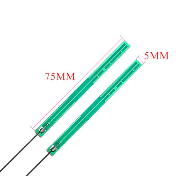 GSM 3G / 4G антенна с разъемом IPEX (700-2700 МГц / 5DBI)