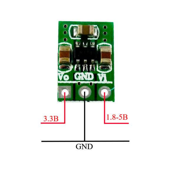 Модуль стабилизатора 3.3В (1.8 — 5В, 100мА)