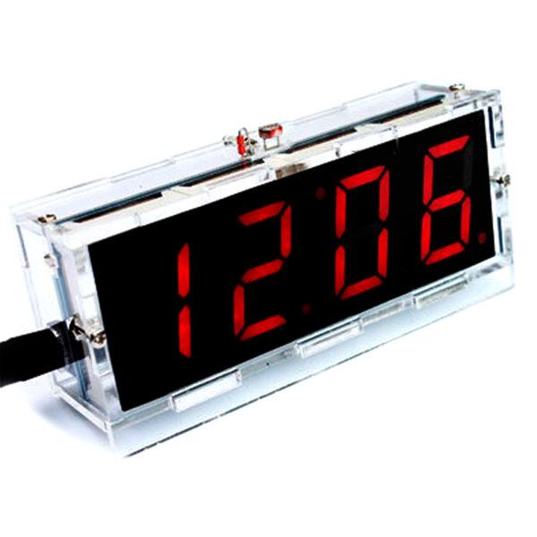 Светодиодные часы на LED индикаторах, набор (4 разряда)Светодиодные часы на LED индикаторах, набор (4 разряда)