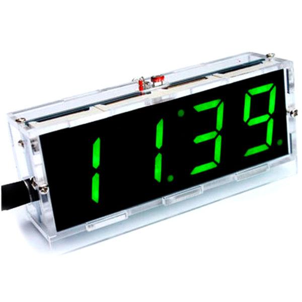 Светодиодные часы на LED индикаторах, набор (4 разряда)