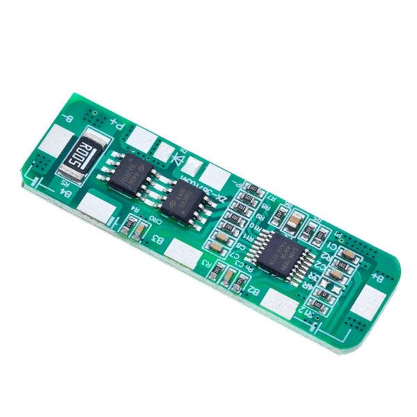 BMS 4S – контроллер заряда/разряда с защитой для 4 АКБ 18650 (14,8 - 16,8 В; 4-5A)