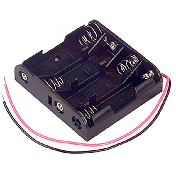 Батарейный отсек 4 х ААА с 2 кабелями