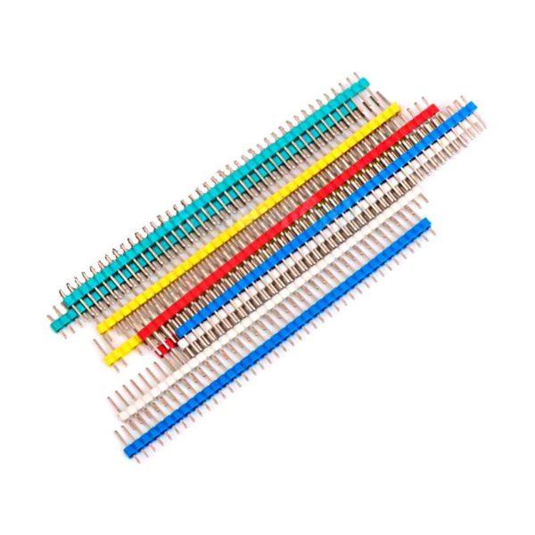 Штыревой разъем цветной, 40 контактов, 2.54 мм, 1 шт