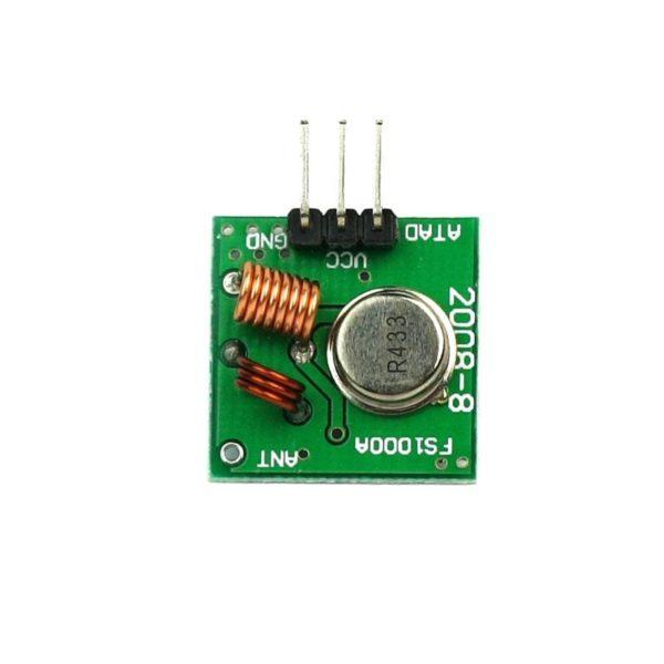 Беспроводной приемник и передатчик 433Mhz