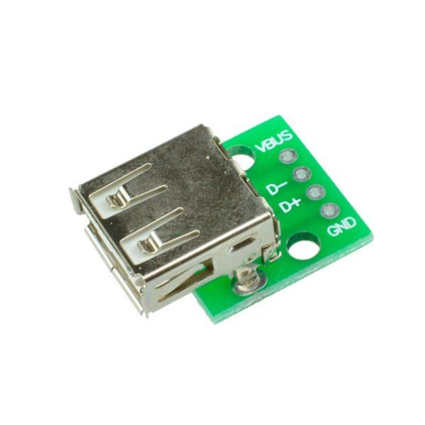 Переходник USB - DIP (4 pin)
