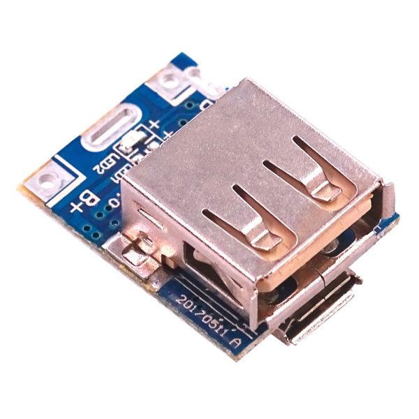 Модуль Powerbank для зарядки Li-Ion / Li-Pol АКБ с выводом питания