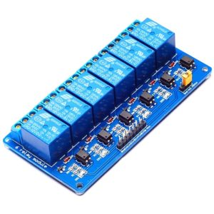 Шестиканальное реле для Arduino