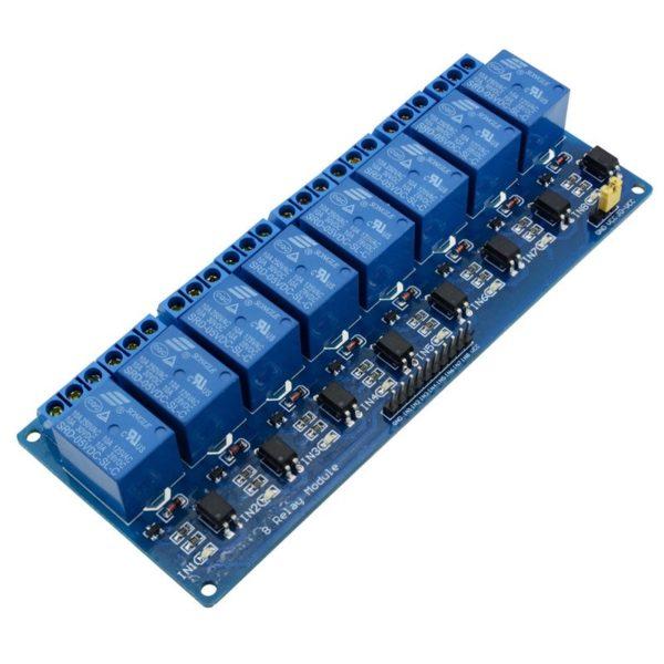 Восьмиканальное реле для Arduino