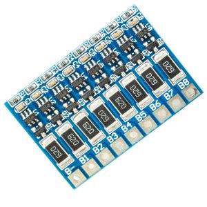 BMS 8S - контроллер балансировки разряда Li-Ion/LiPO АКБ