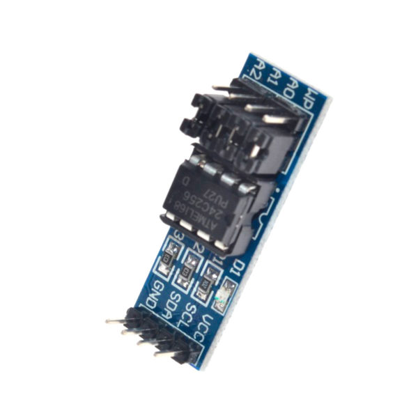 24C256 (AT24C256) - модуль последовательной энергонезависимой памяти