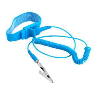 Антистатический ESD браслет для работы с электроникой
