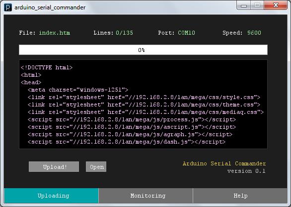 Arduino Serial Commander