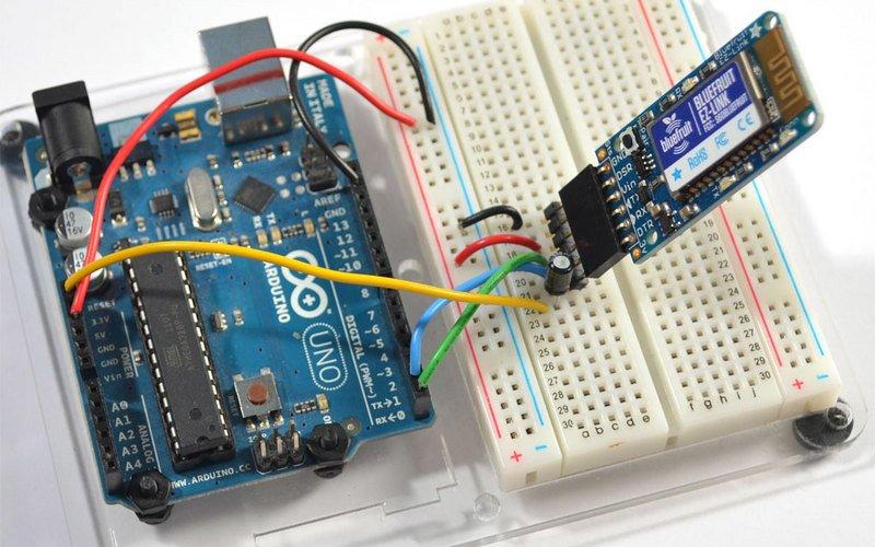 Подключение Bluetooth модуля HC-03 - HC-07 к Arduino