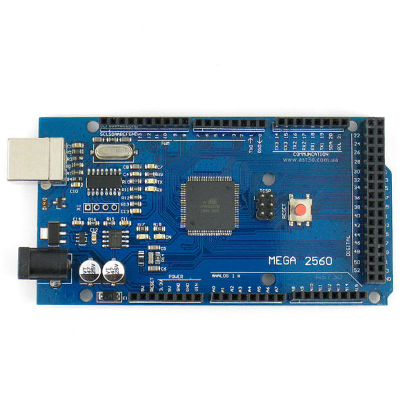Arduino Mega 2560 R3 - программатор CH340G