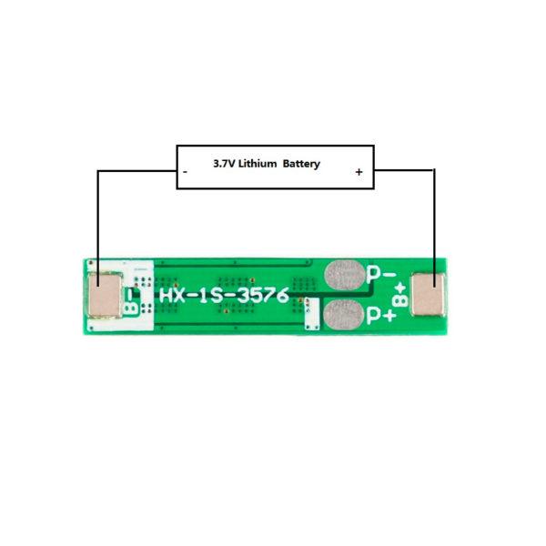 BMS 1S - плата защиты 1 АКБ 18650