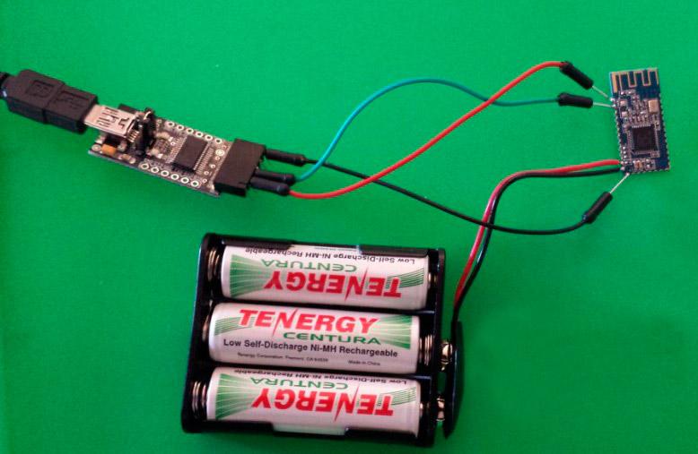 Использование модулей HM-10 BLE в качестве недорогих iBeacons