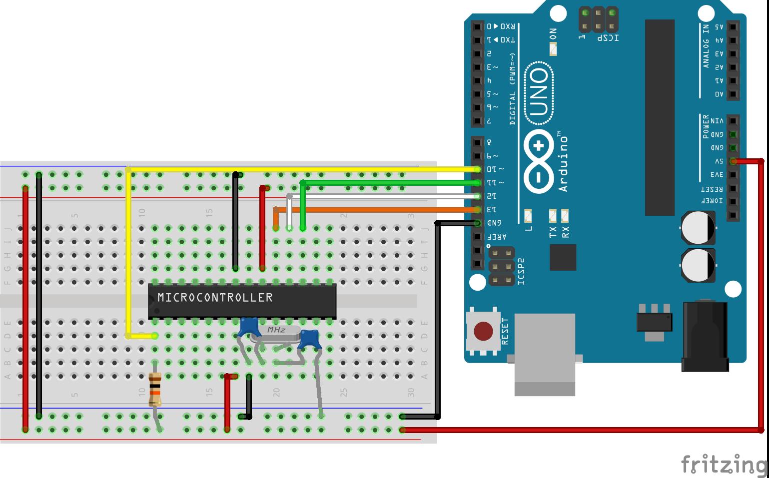 Прошивка загрузчика на микроконтроллере ATMEGA328P