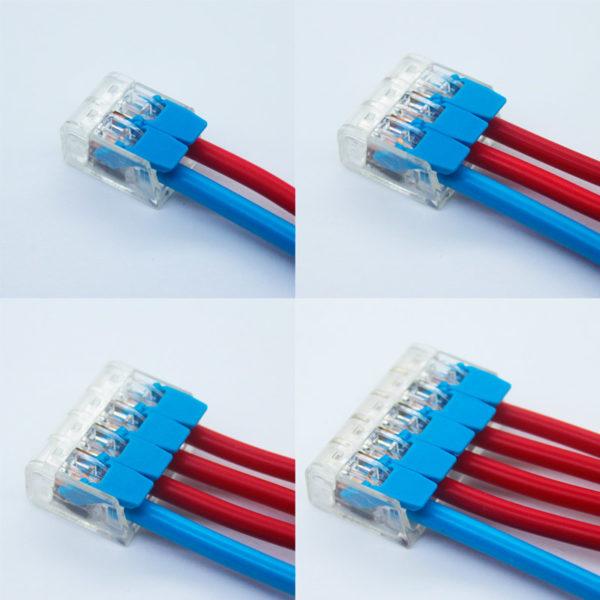 Схема подключения быстросъемных коннекторов