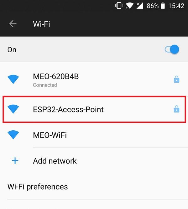 Как настроить точку доступа на ESP32 для веб-сервера