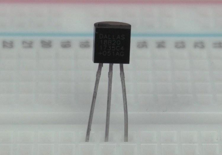 Считывание показаний с нескольких датчиков температуры DS18B20 посредством микросхемы ESP32