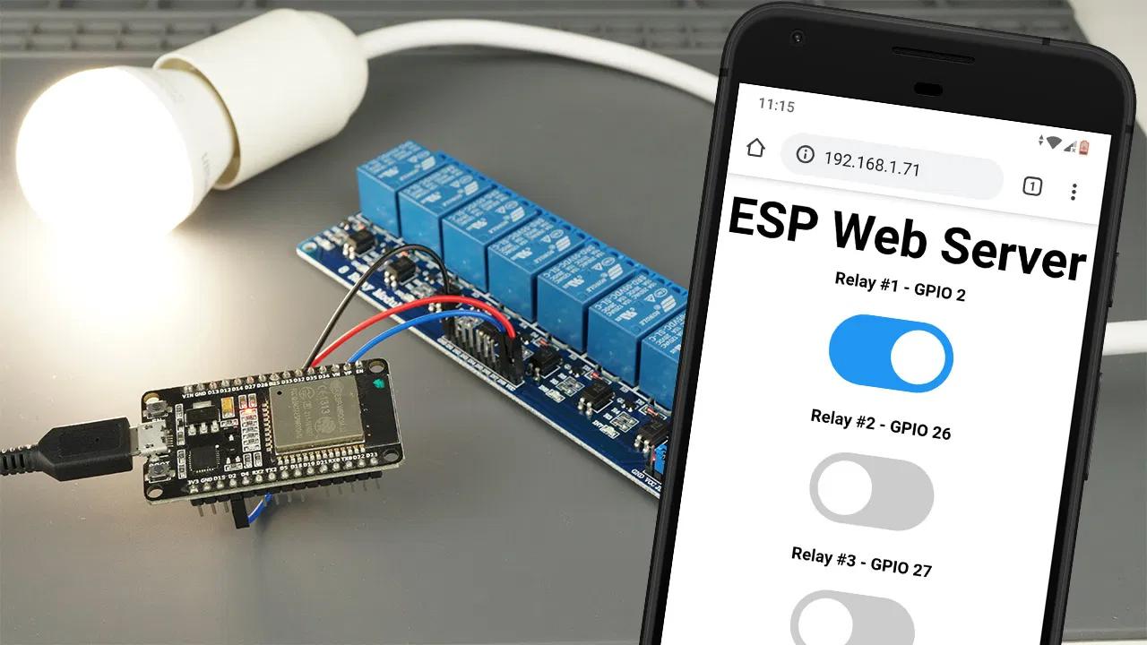 Веб-сервер ESP32