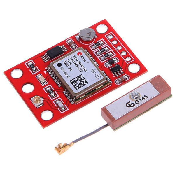 UbloX NEO-6M-0-001 - GPS модуль с внешней антенной