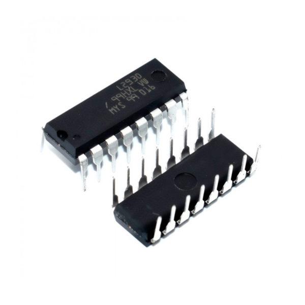 L293D - микросхема драйвера в корпусе dip16