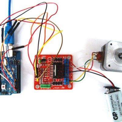 Подключение шагового двигателя к Arduino