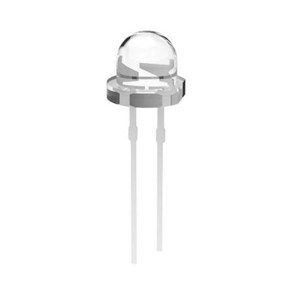 Ультраяркий светодиод (холодный белый, 5мм, 5-6лм, 0.2Вт)