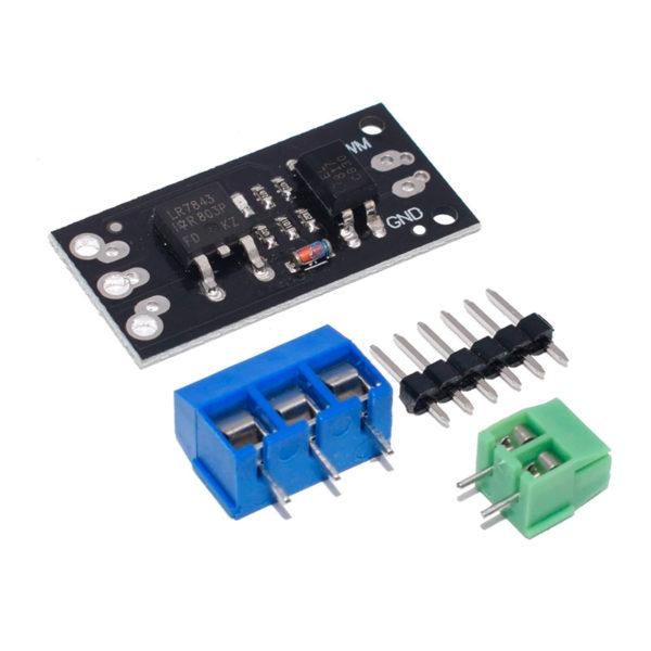 LR7843 - MOSFET модуль управления (30В / 161A)