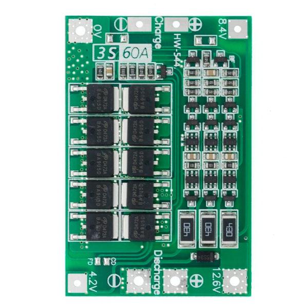 Контроллер заряда BMS 3S 60A