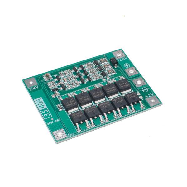 Контроллер заряда BMS 3S 40A