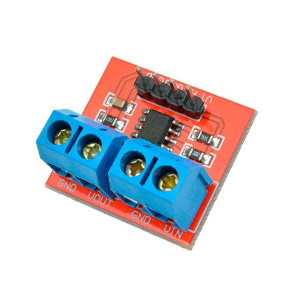 Датчик тока и напряжения MAX471 с аналоговым входом